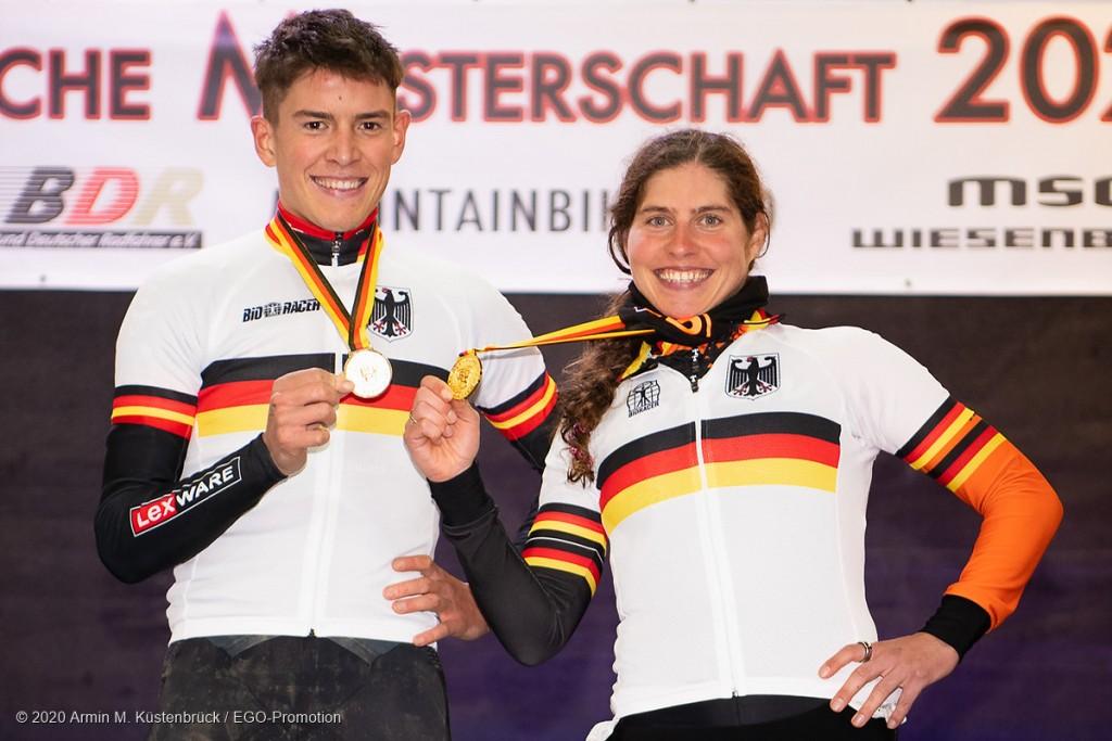 Deutsche Meister der Elite 2020: Max Brandl & Elisabeth Brandau © Armin M. Küstenbrück / EGO-Promotion
