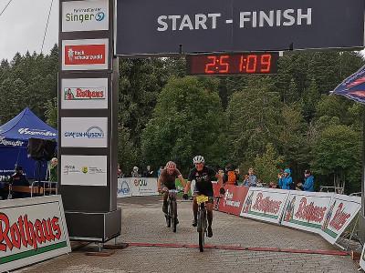 Siegerin der 1. Etappe in Grafenhausen: Janine Schneider © Kai Sauser / Rothaus Bike Giro